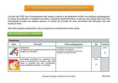 Tice Et Langues | Cels | Scoop.it