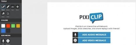 PixiClip, completa herramienta para dibujar, narrar, añadir mensajes y compartir nuestros dibujos.- | Software+App+Web.- | Scoop.it