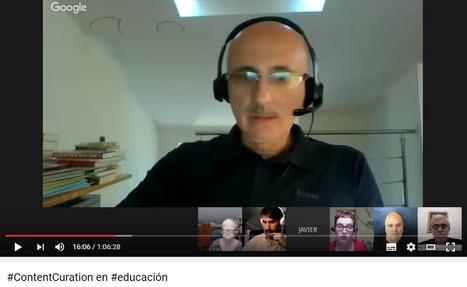 Hangout sobre Curación de contenidos en educación | Los Content Curators | APRENDIZAJE | Scoop.it