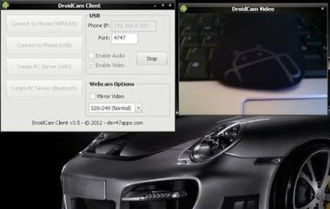 DroidCam utiliza cualquier dispositivo Android como webcam y micrófono para tu PC | Las TIC y la Educación | Scoop.it