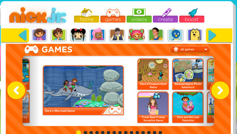 Nick Jr. Games | Nick Jr. Online Games | Nick Jr. Shows Games | Arborfield K12 Games | Scoop.it
