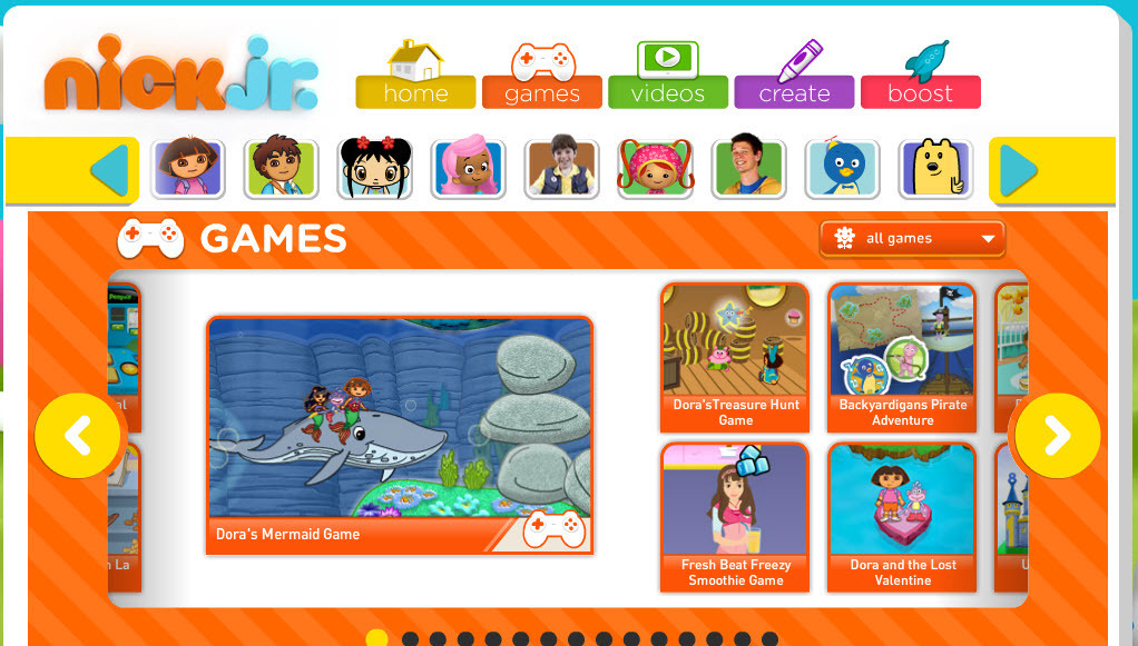 Online Games For Kids Disney