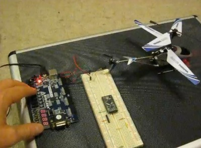 Decoding, then cloning an IR helicopter toy's control signals | AnalysIR Infrared Anlayzer & Decoder for Arduino, USB IR Toy, Raspberry Pi and more | Scoop.it