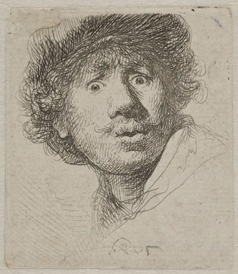 Les selfies de Rembrandt - DESSIN OU PEINTURE | Inspiration et créativité | Scoop.it