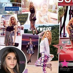 Madonna's Daughter Lourdes Leon on Spring Fashion Trends: Bodycon Dresses Are Out | So many faces for the fashion industry | Scoop.it