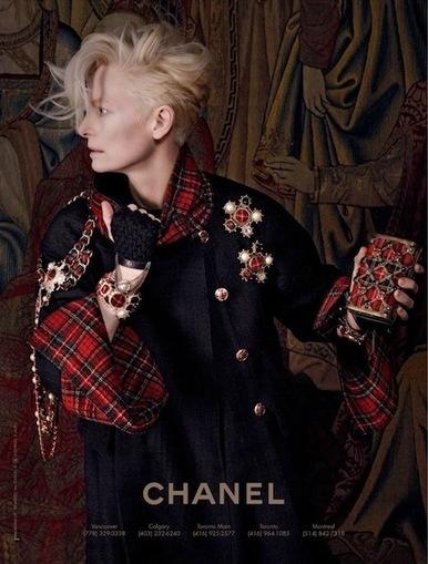Tilda Swinton Chanel Ad: Karl Lagerfeld Photographs Scottish-Theme Line - Fashion & Style | TAFT: Trends And Fashion Timeline | Scoop.it