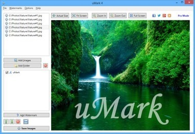 uMark - Software marcas de agua | Educacion, ecologia y TIC | Scoop.it