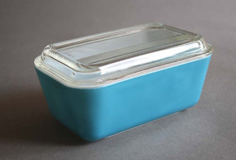 Vintage Pyrex Blue Refrigerator Container | Chummaa...therinjuppome! | Scoop.it