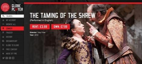 Shakespeare Globe Goes On-Demand | Organic Pathos | Scoop.it