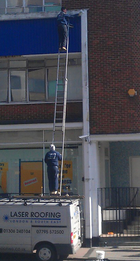 Roofer fined for balancing ladder on van roof (From Daily Echo) | Health and safety at work | Scoop.it
