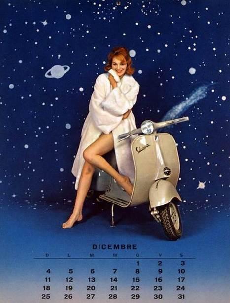 Vespa Love 1960 Calendar | Vespa Stories | Scoop.it