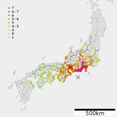 Petite histoire des tremblements de terre à Osaka | Japan Tsunami | Scoop.it