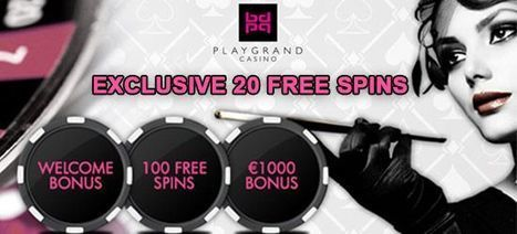 New Welcome Bonus at PlayGrand Casino | Casino Bonus Tips | Scoop.it