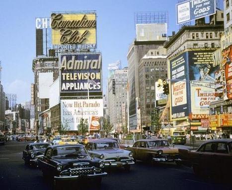 Twitter / History_Pics: New York City, 1959 ... | World History | Scoop.it
