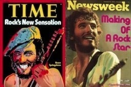 38 Years Ago : Bruce Springsteen Appears on Covers of Time and Newsweek | Bruce Springsteen | Scoop.it