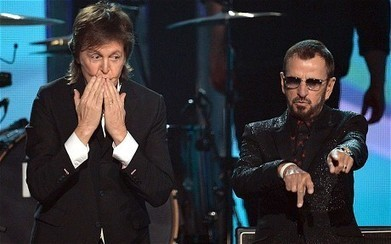 Variety Blog for the variety veiwers: Grammys 2014: Beatles Paul McCartney and Ringo reunite on stage | boars brush | Scoop.it
