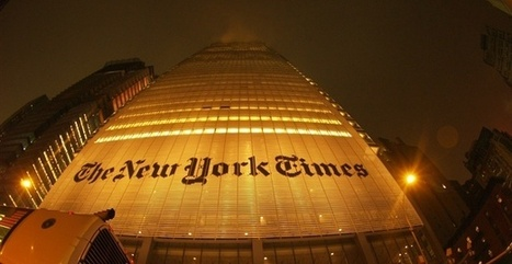 The New York Times' Most Popular Story of 2013 Was Not an Article | New journalism | Scoop.it