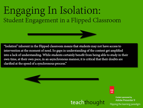 Student Engagement in a Flipped Classroom | ICT in de lerarenopleiding | Scoop.it