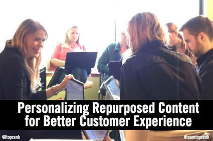 5 Steps to Personalize Repurposed Content for Your Target Audience | digital marketing strategy | Scoop.it