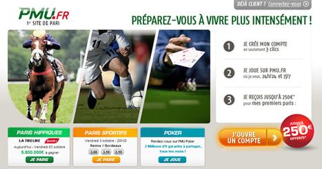 Le bonus PMU à 250€ ce week-end ! | Paris sportifs & bookmakers | Scoop.it