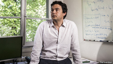 """Thomas Piketty's """"Capital"""", summarised in four paragraphs   Criminology and Economic Theory   Scoop.it"""