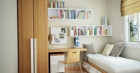 couple ideas to decorate a small bedroom | Ideas para inspirarte | Scoop.it