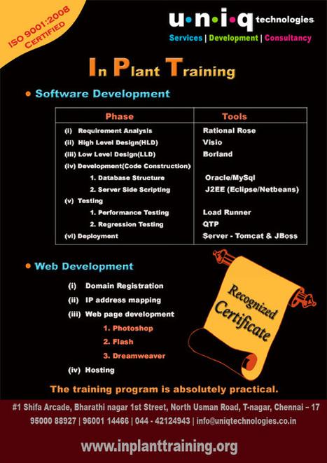 inplant training-chennai|inplant training-cse | ipt chennai | Inplant tranining | Scoop.it