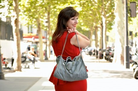 La blogueuse rouge flamboyante | LovaLinda | fashion blogosphere | Scoop.it