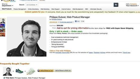 Fake Amazon Page Is Best Online Resume Ever | Life @ Work | Scoop.it