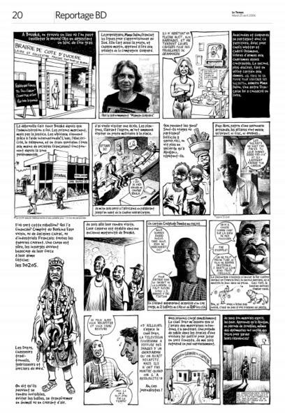 Le reportage en bande dessinée dans la presse actuelle: un autre regard sur le monde | La bande dessinée documentaire | Scoop.it