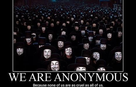 Anonymous: «Temos as bases de dados secretas dos EUA» | TecnoCompInfo | Scoop.it