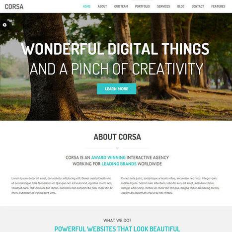 Corsa WordPress Theme | WordPress Theme Download | Best WordPress Themes 2013 | Scoop.it