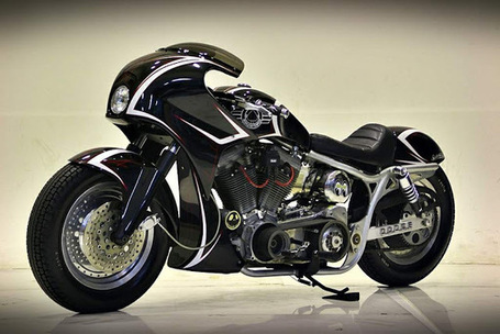 Harley Dyna FXR by Studio Motor ~ Grease n Gasoline | Cars | Motorcycles | Gadgets | Scoop.it
