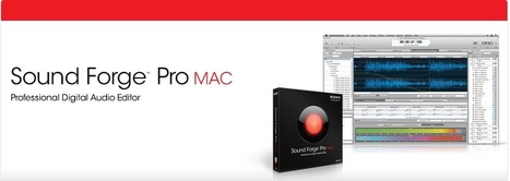 Sound Forge Pro MAC Review   New Pro Audio suite for OS X   Scoop.it