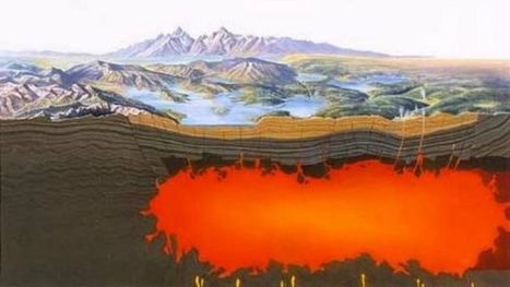 Geology IN: Study: Yellowstone magma much bigger than thought | NetGeology | Scoop.it