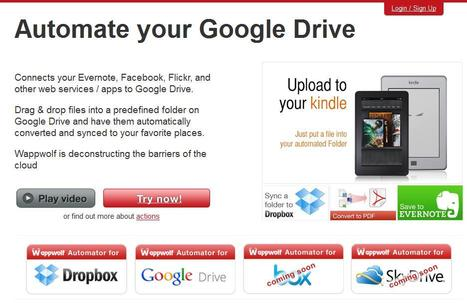 Automatiser Google Drive, Automator for Google Drive | Time to Learn | Scoop.it