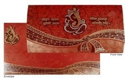 Hindu Wedding and their cards are very religious | Designer Wedding Cards | Scoop.it