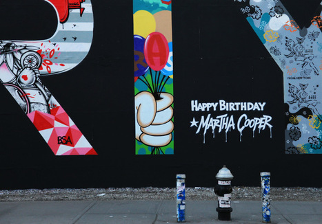 NYC Street Surprise for Photographer Martha Cooper on her 70th | What's new in Visual Communication? | Scoop.it