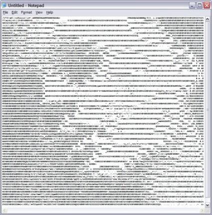 Badly compressed JPG2ASCII-conversion by Stevendkay. | ASCII Art | Scoop.it