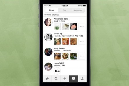Pinterest News Feature Being Tested On iOS App | Pinterest Marketing Tips | Scoop.it