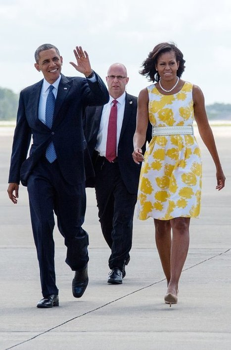 Michelle Obama's Talbots Dress — Get Her Vacation Style For $55 ... | All Things Michelle Obama | Scoop.it