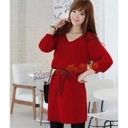 Red Dress | Baju Korea 2013 | Scoop.it