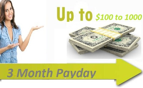 3 Month Payday Loans Bad Credit- Offered Money for Your Short-term Needs | 3 Month Loans | Scoop.it