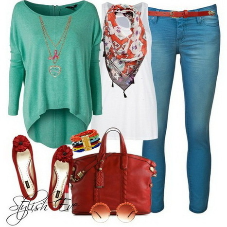 Jean Outfits for Women by Stylish Eve | stylish women | Scoop.it