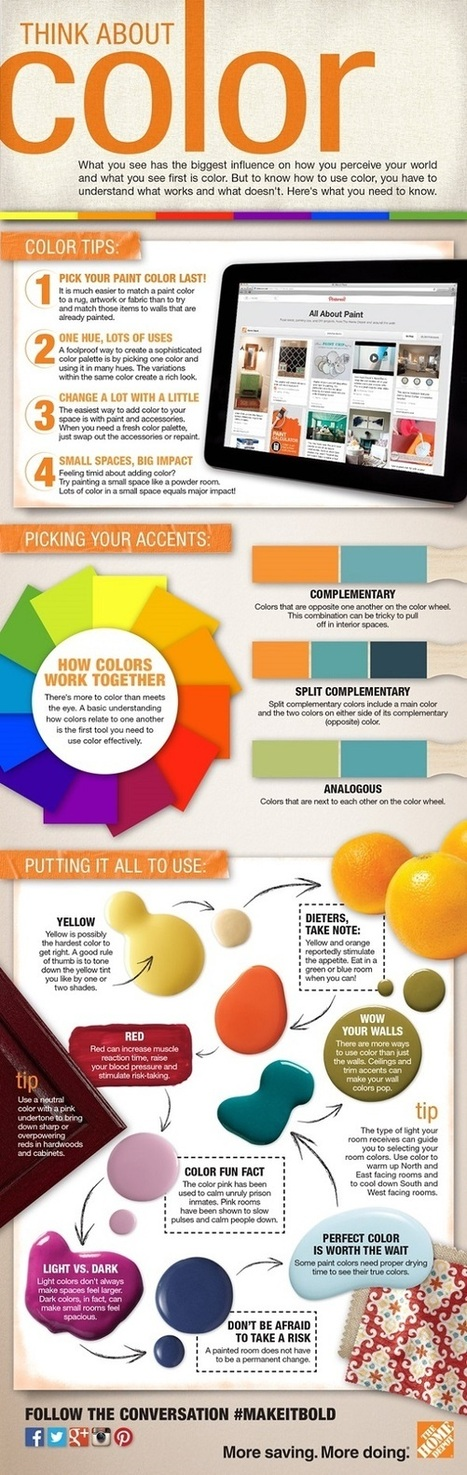 50 Best Infographics for Web Designers - Color Theory Edition | iEduc | Scoop.it