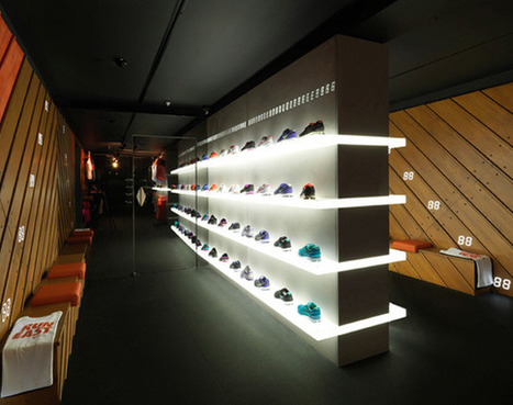 Fuelstation Nike Retail Design Interior Design Ideas