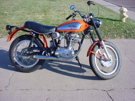 Sanitary Scrambler: 1970 Ducati 350 | Ductalk Ducati News | Scoop.it