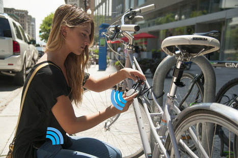 Noke, le cadenas connecté qui vous accompagne partout - Connected-Objects.fr | social tv | Scoop.it