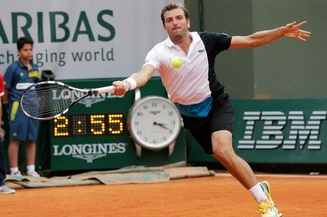 Interview & Vidéo : Benneteau :«Content de m'en sortir» (Roland Garros 2013) | Tennis & ATP - Vivez la saison 2013 ! | Scoop.it