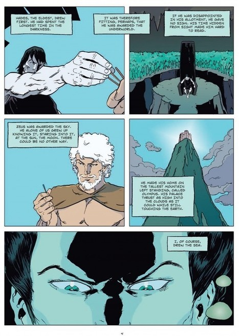 Departing the Text: Poseidon - Earth Shaker | Graphic Novels in Classrooms: Promoting Visual and Verbal LIteracy | Scoop.it